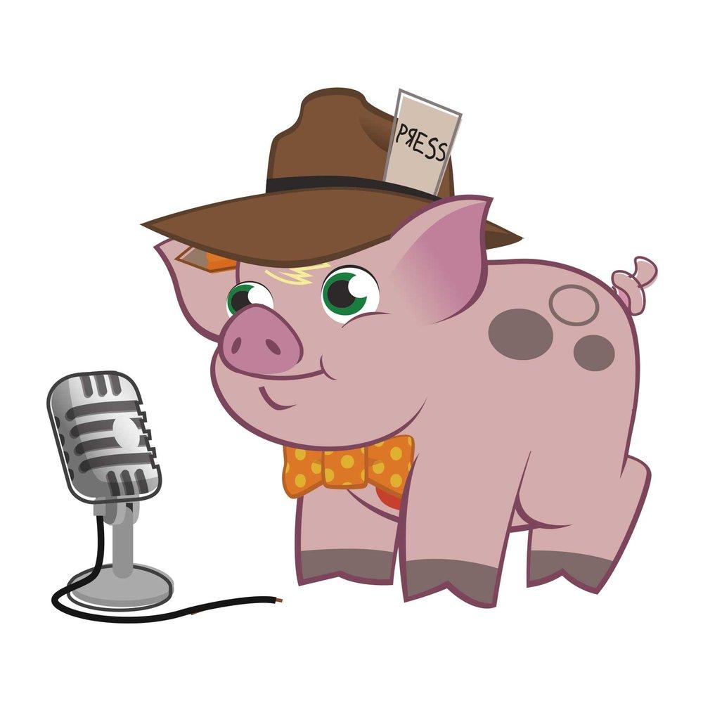 Kirk Baykin, pig reporter