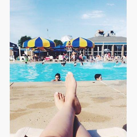 Enjoy #pool #summer #minimal #parksandrecreation #relax