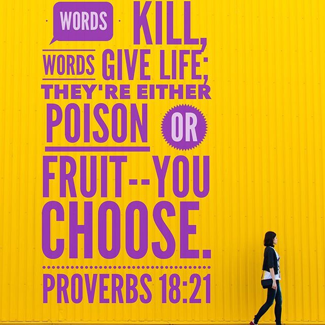 What comes out of your mouth has tremendous power. For you, other people and the situations around you. This week, listen to your own words. Choose to replace any negative speak with words of life, strength, faith, goodness, positivity you are hoping for. Reap the fruit not the poison.❤️ #hope #future #powerofthetongue #power #facts