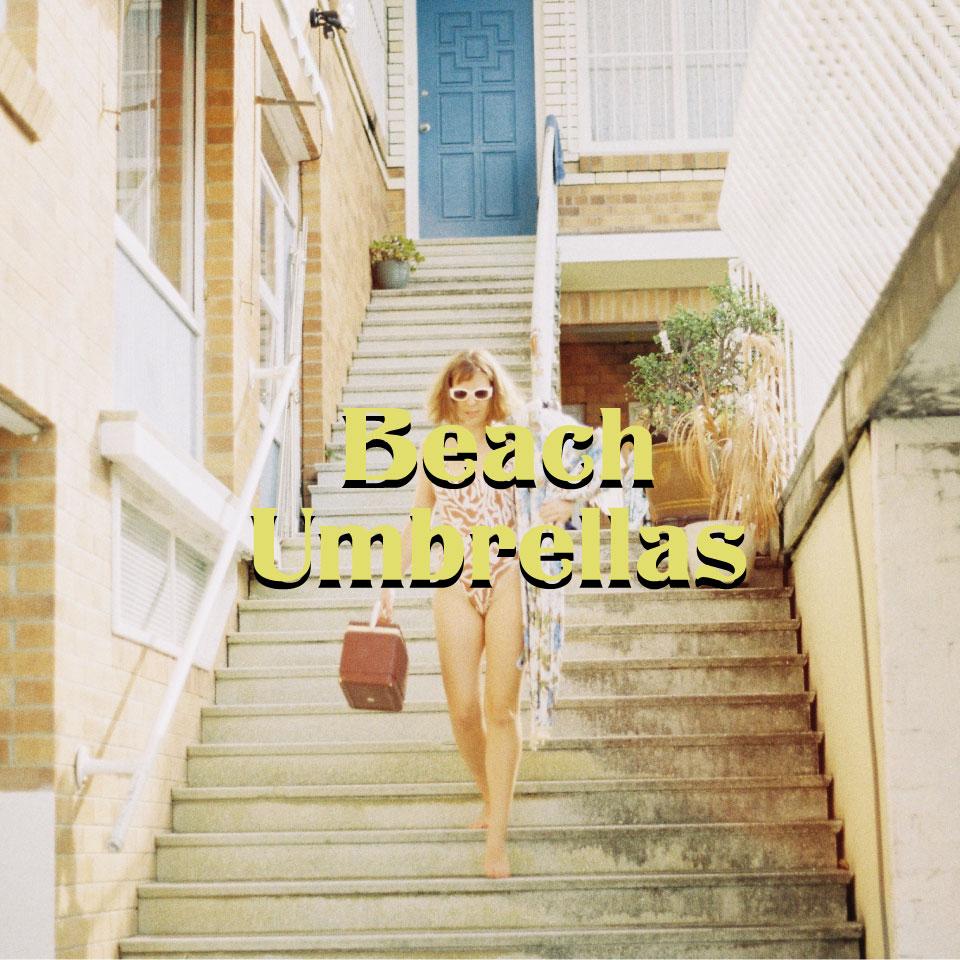 Vintage Beach Umbrellas