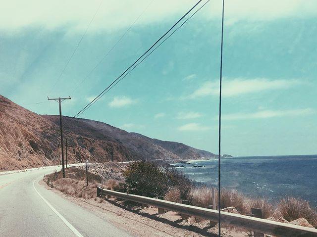 Sunshine highway🌞 #beachdays #malibu #beachumbrella #tothebeach #chasethesun