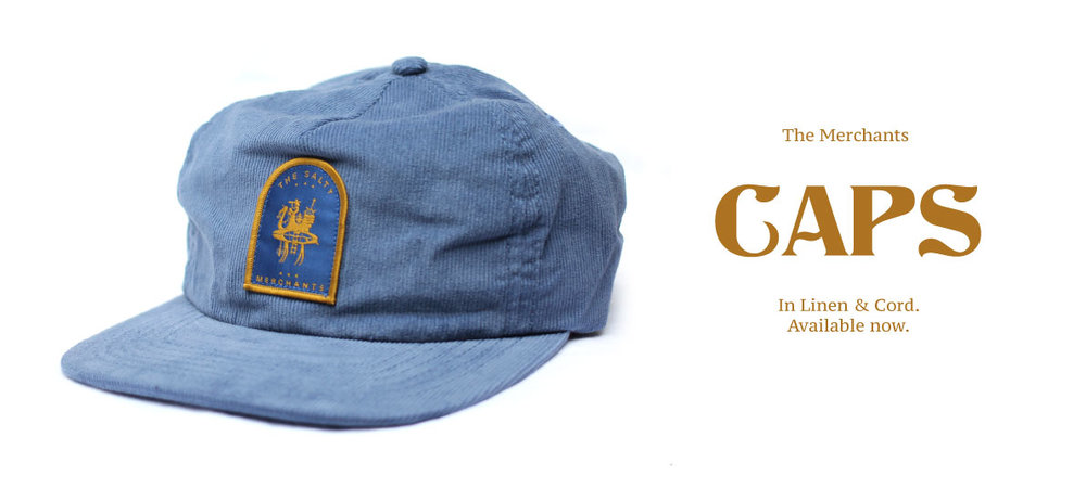 Deconstructed corduroy captains cap