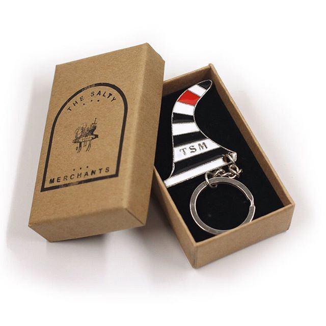 Sock jam key ring is here. Limited number. Avail through the site and ship in classy little packaging, as it should. #keyring #finkey #sockjam #stockingstuffers