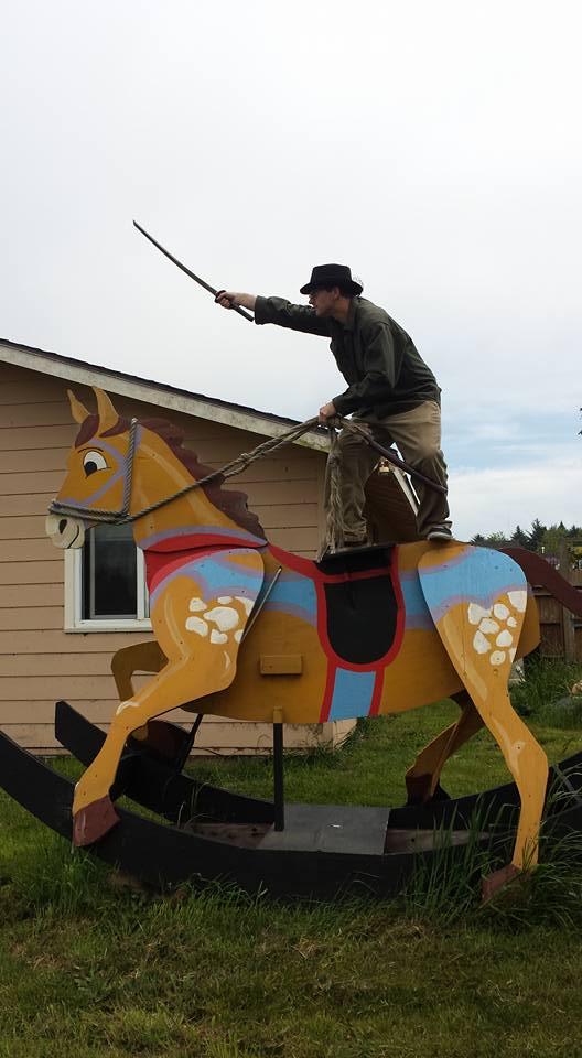 Also horseback riding.