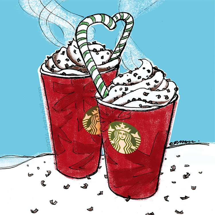 ©2014 Peppermint Mocha Red Cup Love