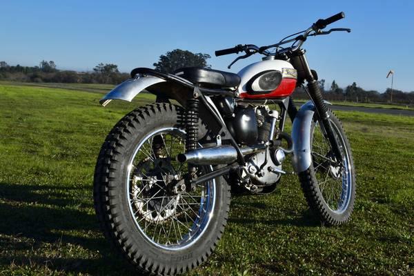 1963 Triumph T20 Tiger Cub Trials Bike 3500 Select Moto