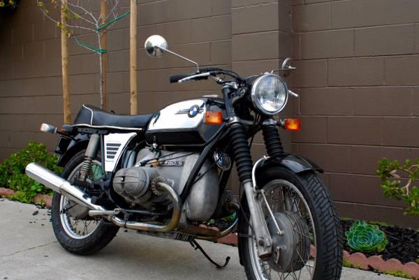 1972 bmw r60 5 3900 select moto. Black Bedroom Furniture Sets. Home Design Ideas