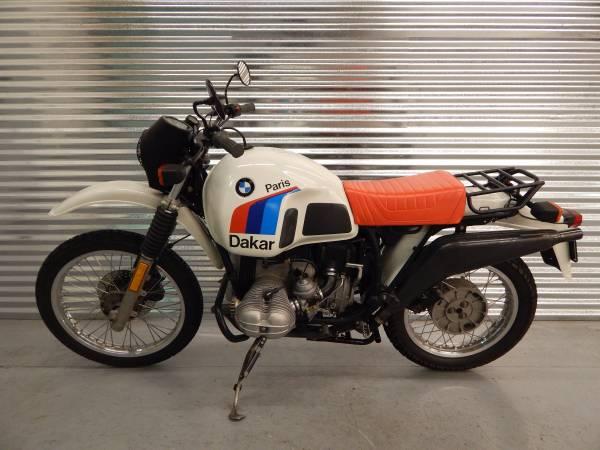 1986 Bmw R80g S Paris Dakar 14990 Select Moto