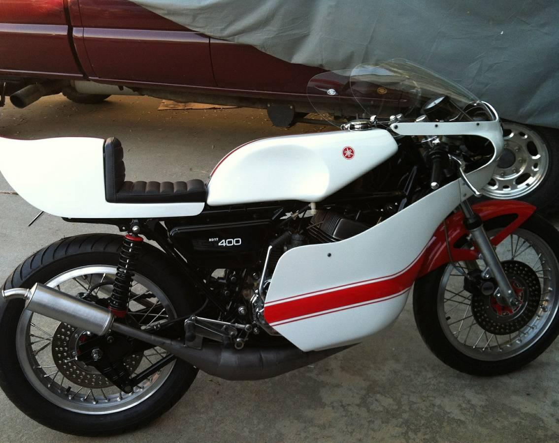 1978 Yamaha RD400 - nice build - $9900 — Select Moto