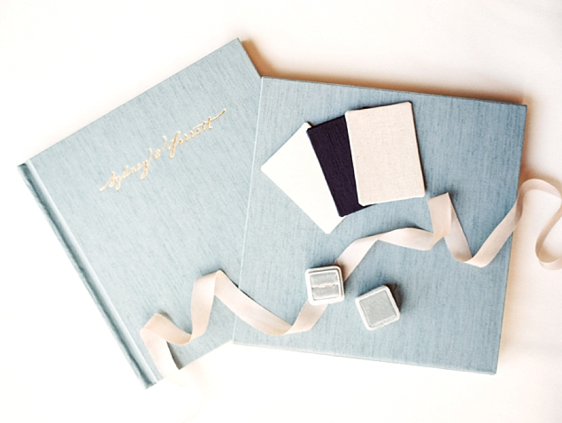 French Grey Blue - Natural Linen