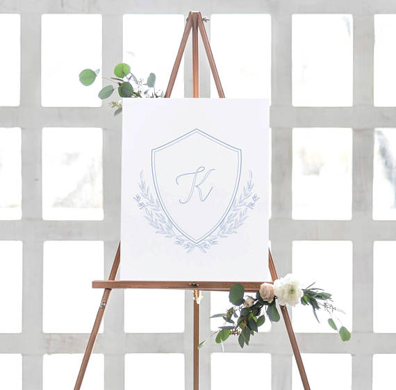 Click to view    Wedding crest sign    VISIT LINK