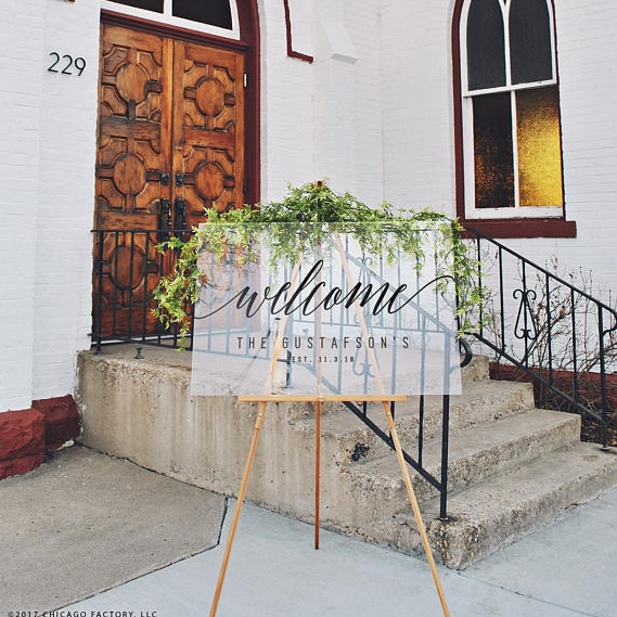 Click to view    acrylic welcome sign    VISIT LINK