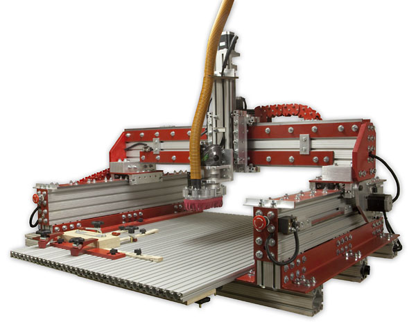 The Illustrated Guide to Building a High Speed CNC Router
