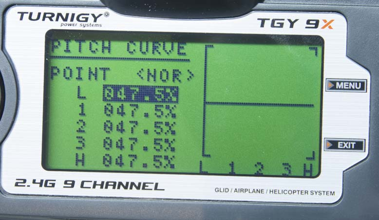Pitch Curve 1