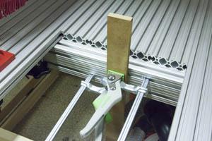 Aluminum Clamp Table