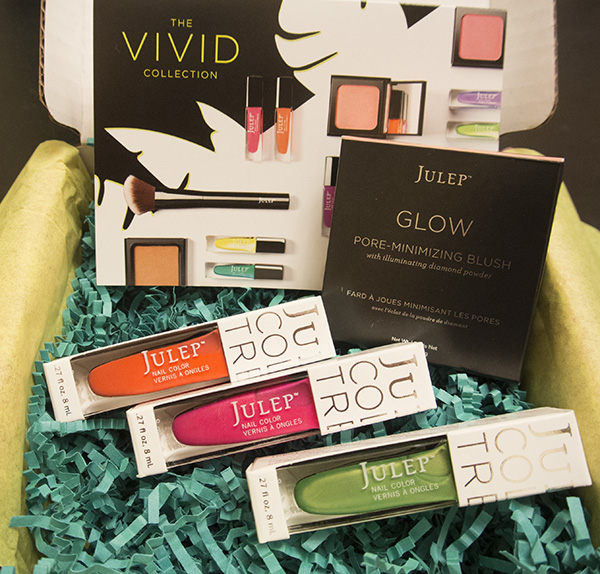 Julep Maven Box, April 2014, Vivid Collection