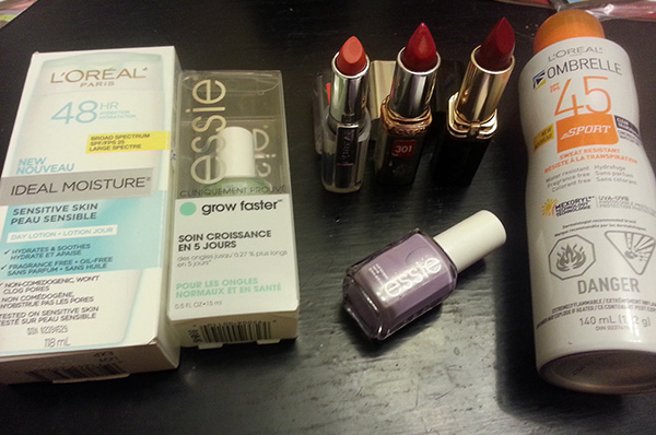 L'Oreal Canada Beauty Sale - Ideal Moisture, Essie Grow Faster, L'Oreal Colour Riche & Ombrelle