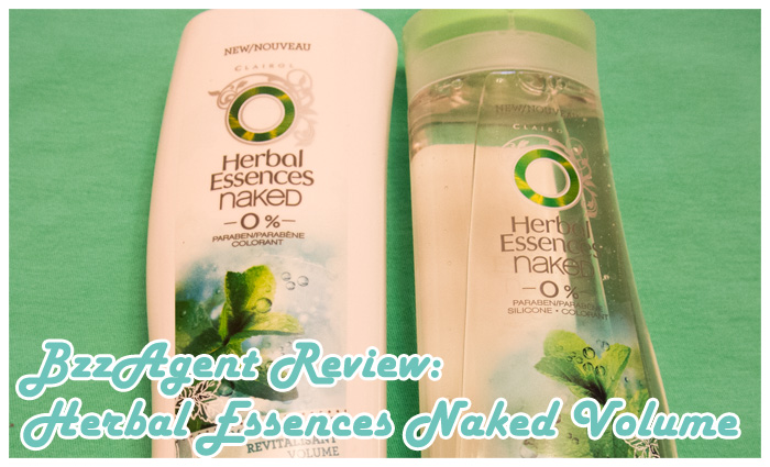 BzzAgent Review: Herbal Essences Naked Volume