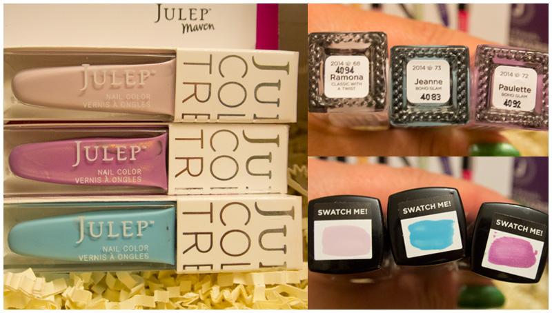 Julep Maven, May 2014 - Boho Glam box: Ramona, Jeanne, Paulette