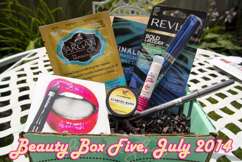 Beauty Box Five, July 2014: Defining Moments