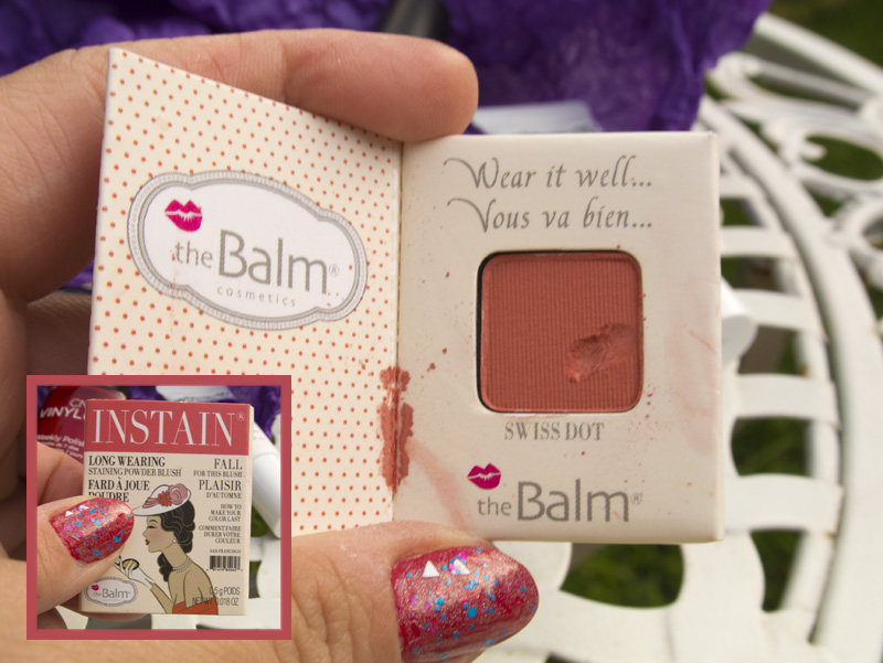 The Balm Cosmetics, Long Wearing Powder Staining Blush - Swiss Dot