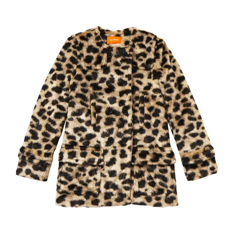 Joe Fresh Animal Print Coat