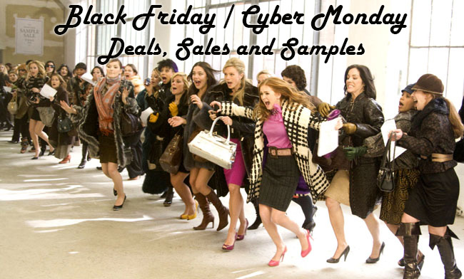 Black Friday/Cyber Monday: Bitches be cray'