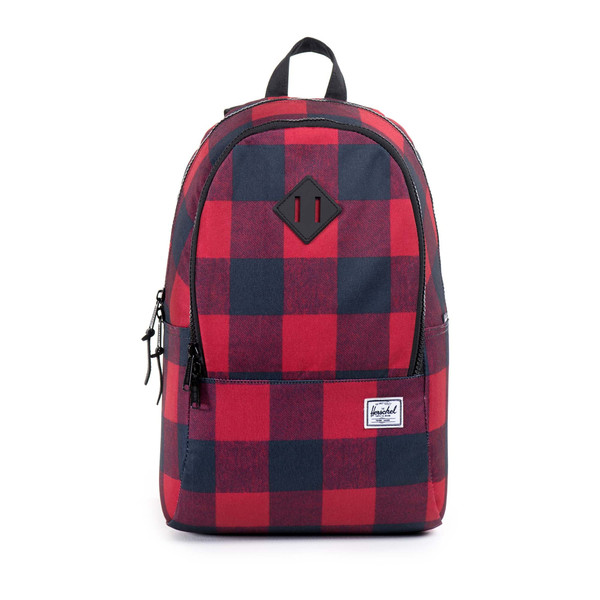 Herschel Supply Nelson Backpack in Buffalo Plaid/Black Rubber