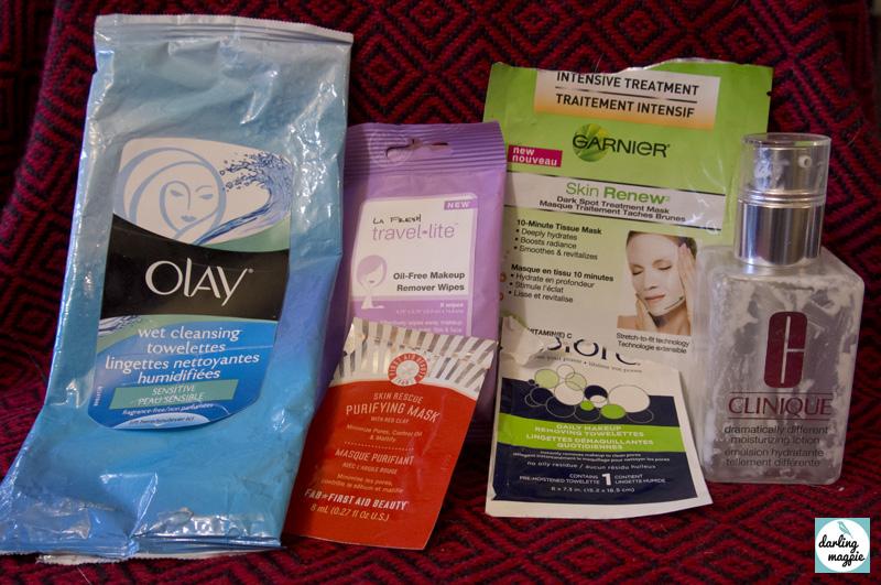 Garnier, Olay, La Fresh, First Aid Beauty, Clinique