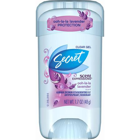 Secret Outlast Clear Gel Ooh-La-La Lavender Review