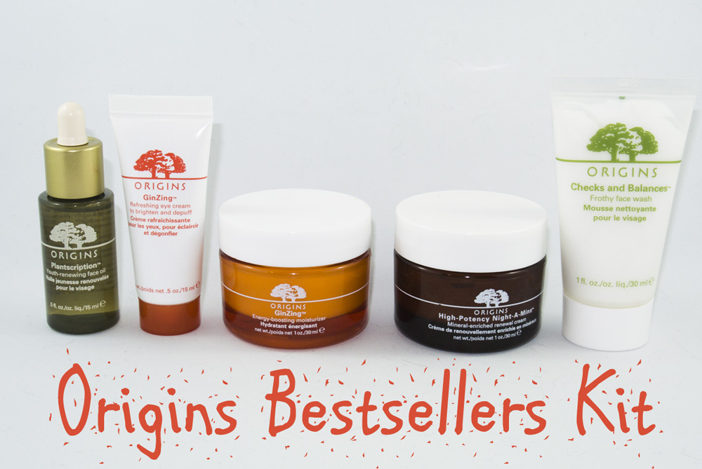 Origins Bestsellers Kit
