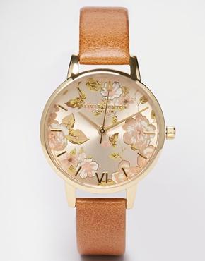 Olivia Burton Parlour Camel Midi Dial Watch