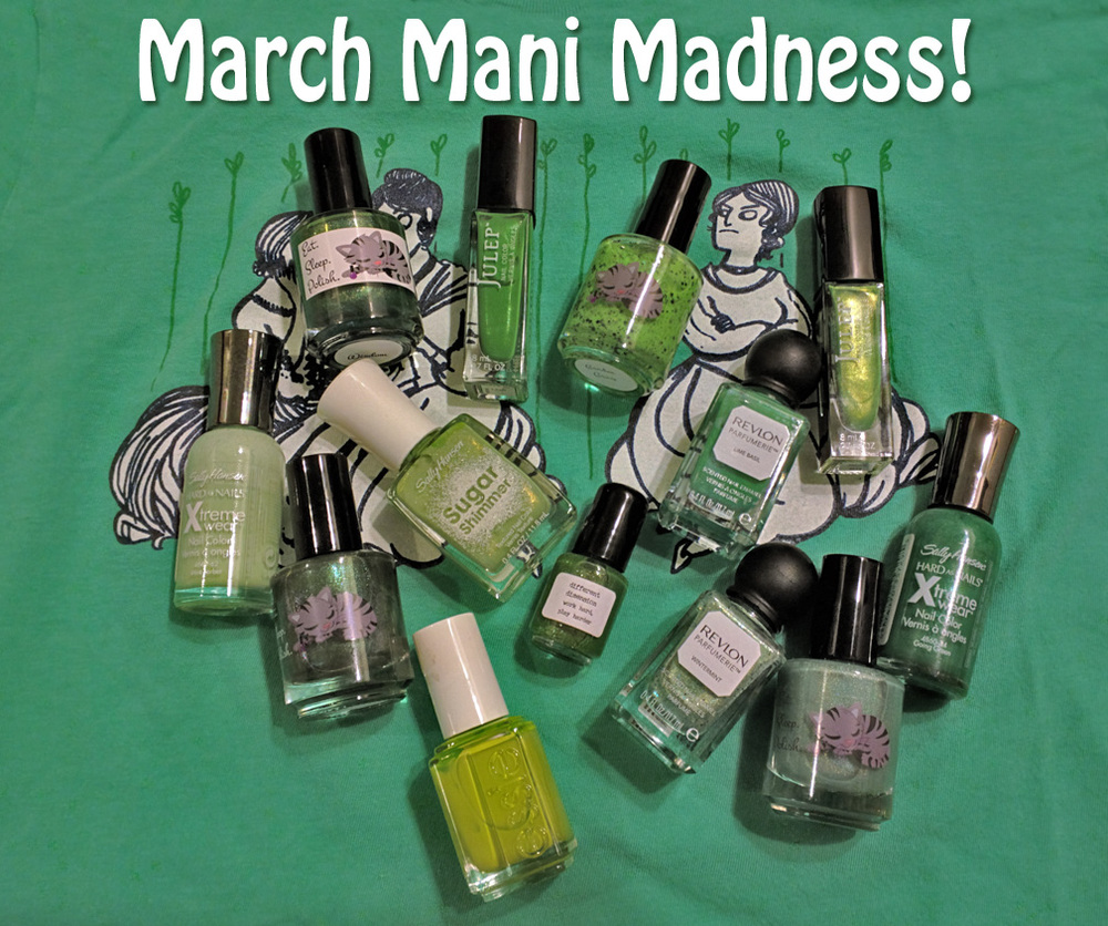 St. Patricks Day and March Madness = Green Polish all March!