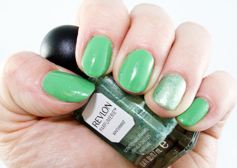 March Mani Madness: Revlon Lime Basil & Wintermint
