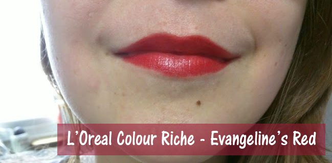 L'Oreal Colour Riche Evangeline's Red