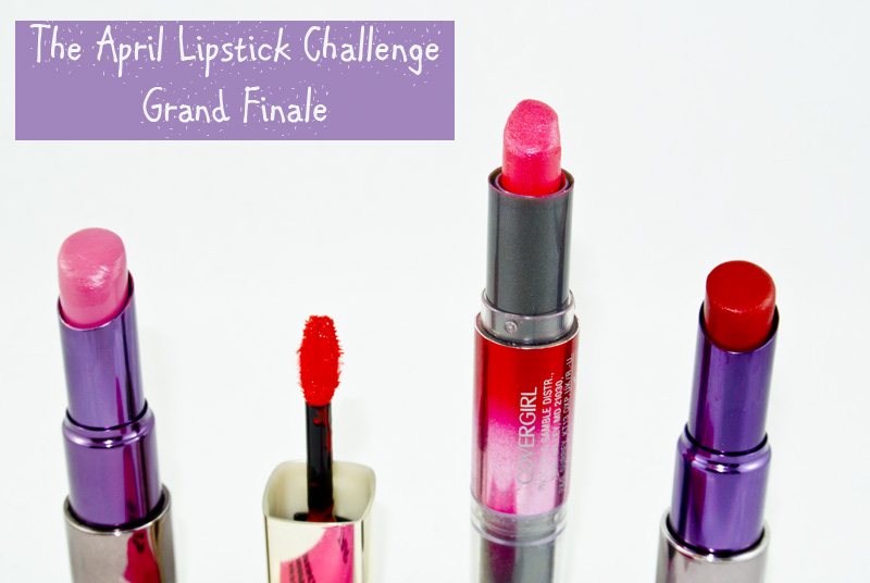 The April Lipstick Challenge - Top 5