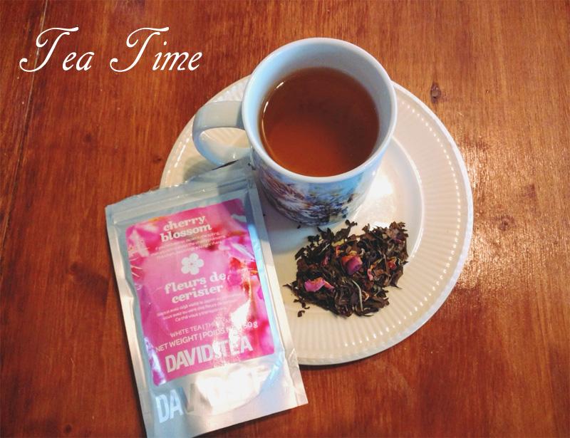Davids Tea Cherry Blossom