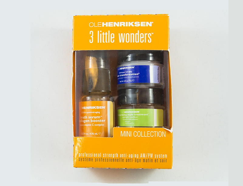 Ole Henriksen - Three Little Wonders