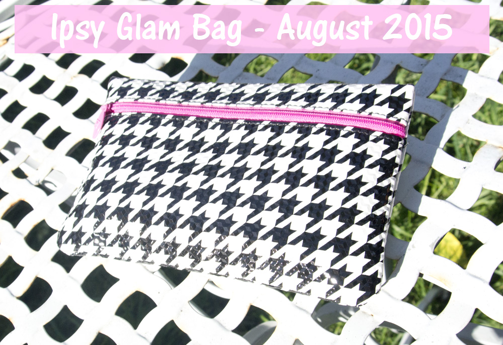 Ipsy August 2015 Glam Bag