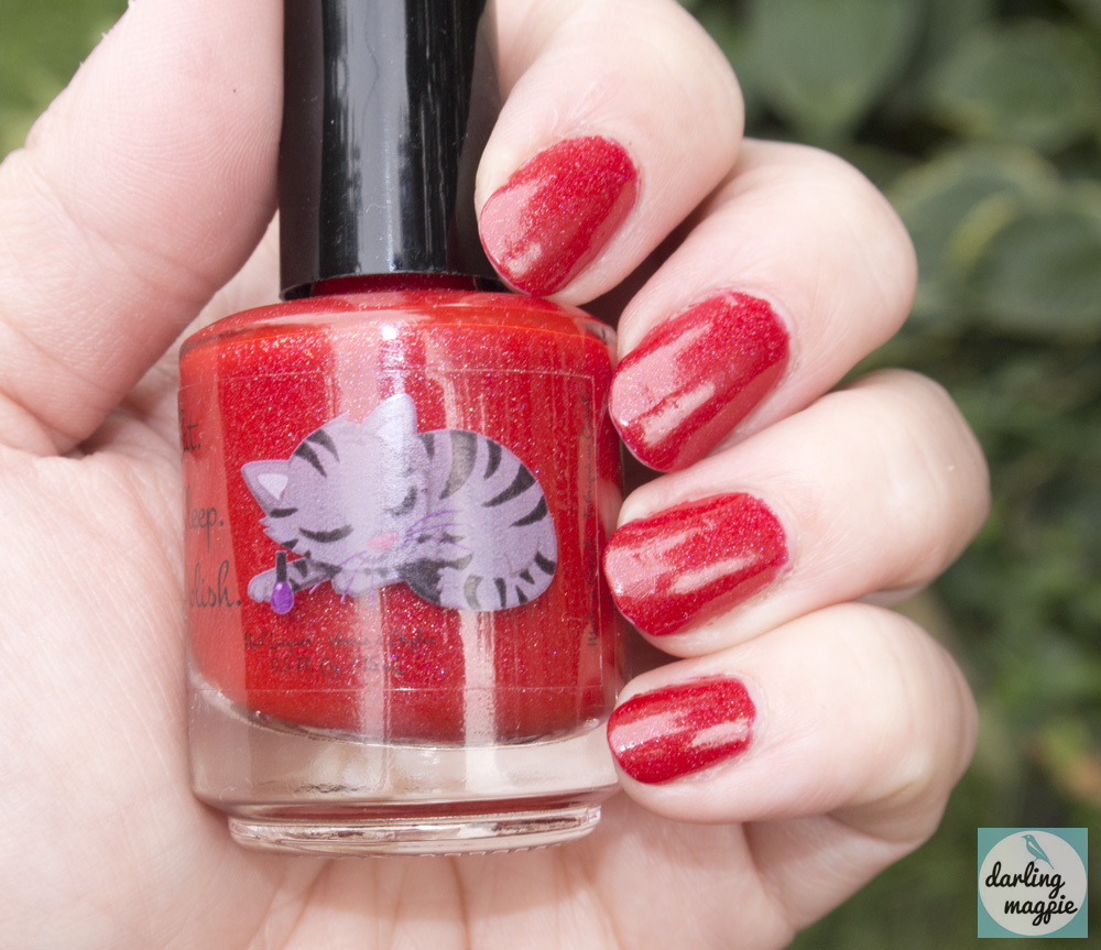 Eat Sleep Polish - The Deadly Poppy Fields - SO RED!