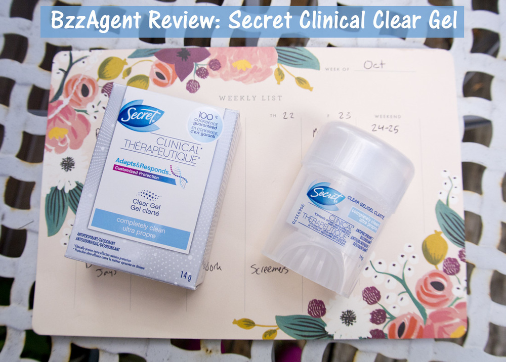 BzzAgent - Secret Clinical Clear Gel