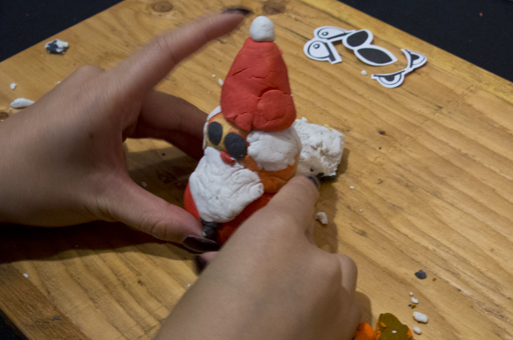 Steph makes Santa!