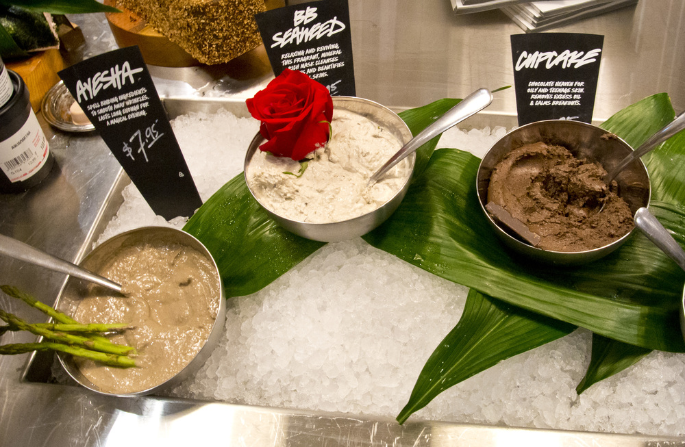 More of Lush's Fresh Face Masks. Take your pick.