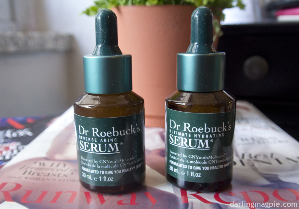 Dr Roebucks Reverse Aging Serum & Ultimate Hydrating Serum