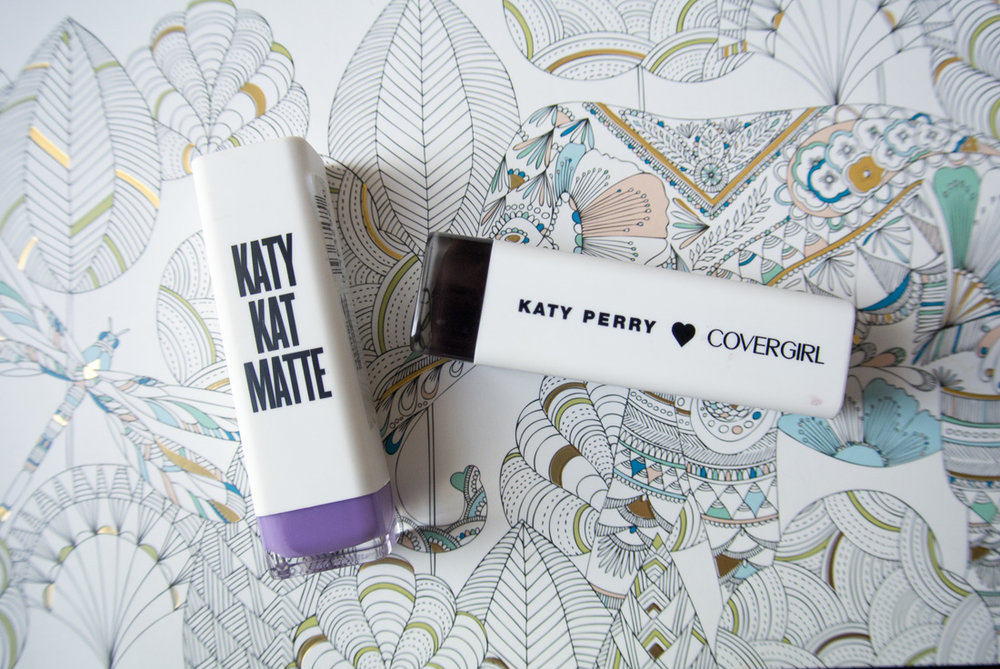 Cover Girl Katy Kat Matte in Cosmo Kitty and Perry Panther