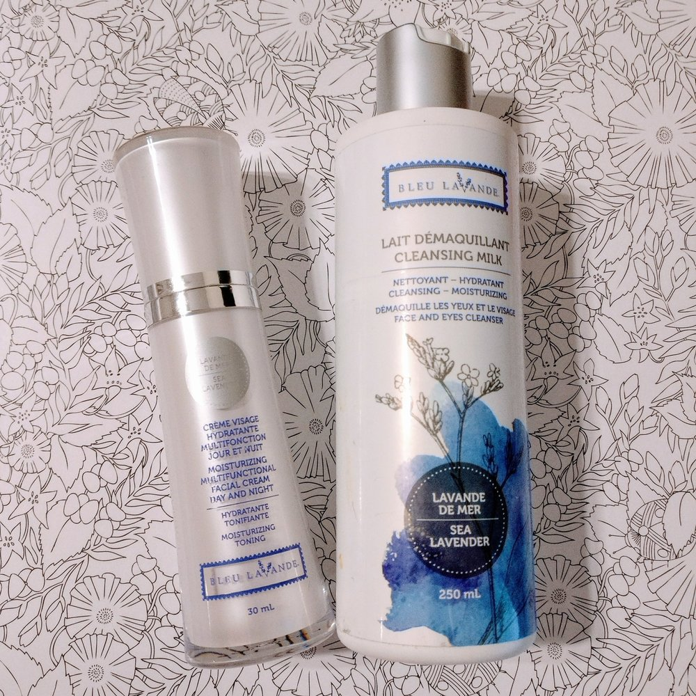 Bleu Lavande Cleansing Milk and Facial Cream