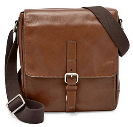 Fossil Davis Leather City Bag