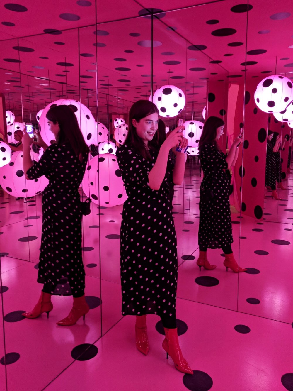 Yayoi Kusama - Dots Obsession - Love Transformed into Dots