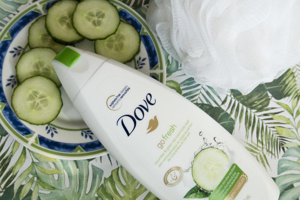 Dove Go Fresh Cucumber and Green Tea Body Wash