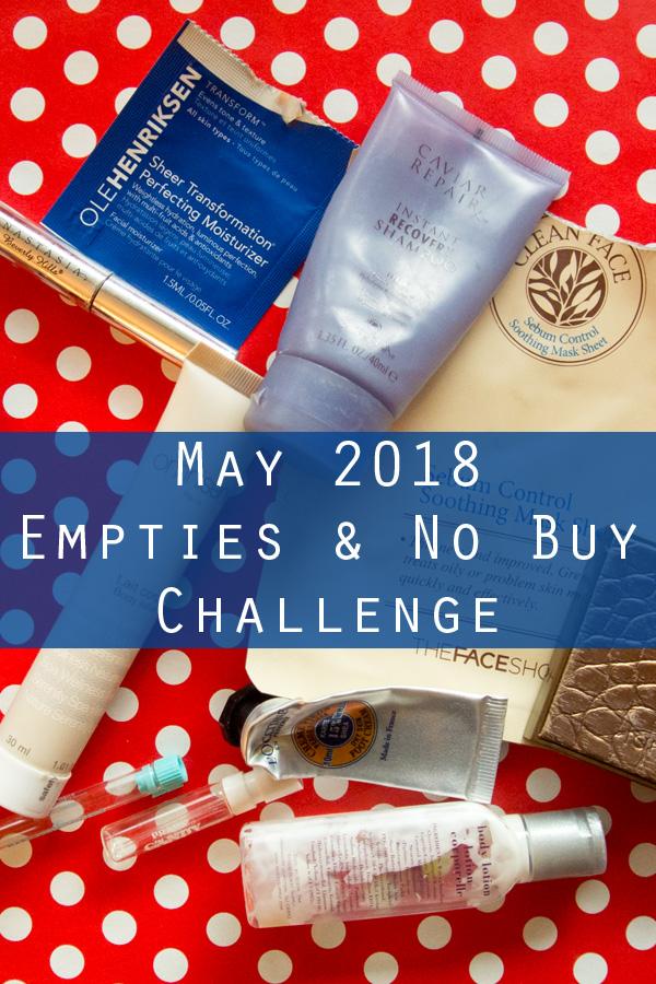 May 2018 Empties